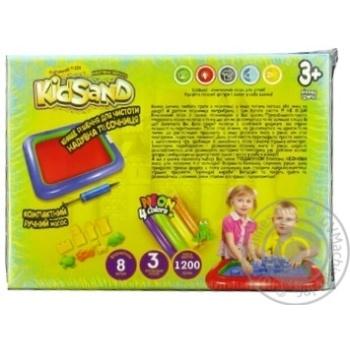 Набір д\творчості Danko Toys кінетичний пісок KidSand 1200г - купити, ціни на МегаМаркет - фото 2