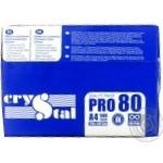 Бумага Crystal Pro А4 80г/м2 500 листов - купить, цены на Ашан - фото 3