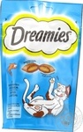 Dreamies with salmon for pets delicacy 60g