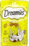 Dreamies with taste of cheese for pets delicacy 60g