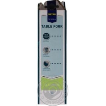 Набір виделок Metro Professional столовых 6шт - купити, ціни на Метро - фото 2