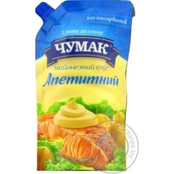 Майонез Чумак Аппетитный 30% 350г
