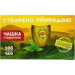 Tea Lipton black packed 100pcs 180g