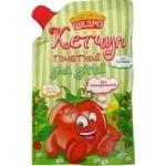 Кетчуп Щедро Томатний для дітей 190г