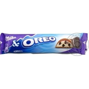 Milka with cookies Oreo milk сhocolate 37g