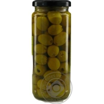 olive St.michele green canned 340ml glass jar - buy, prices for MegaMarket - image 2