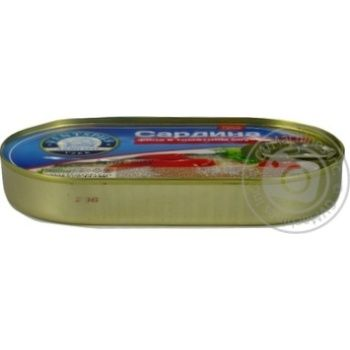 Сардина Ventspils филе в томатном соусе 170г