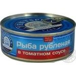Fish Ventspils in tomato sauce 240g can