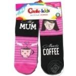 Conte Kids Funny Legs Pink Children's Socks 18s