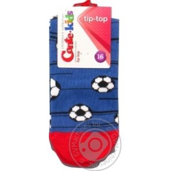 Шкарпетки дитячі CK TIP-TOP 5С-11СП, р.16, 396 джинс