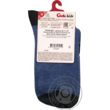 Носки хлопчатобумажные Conte-Kids tip-top детские 24р - купить, цены на СитиМаркет - фото 3