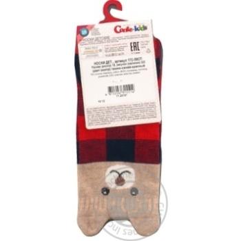 Шкарпетки дитячі Conte kids Tip-Top 17С-59СП, розмір 18, 322 темно-синій-червоний - купить, цены на Novus - фото 2