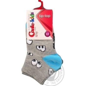 Шкарпетки дитячі CK TIP-TOP 5С-11СП, р.12, 297 сірий
