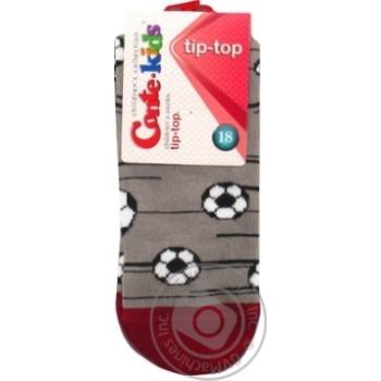 Шкарпетки дитячі CK TIP-TOP 5С-11СП, р.18, 396 сірий