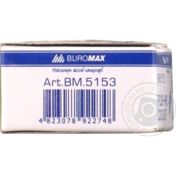 Кнопки-цвяшки кольорові JOBMAX Buromax 25шт - купить, цены на Novus - фото 2