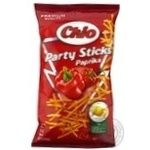 Potato chips Chio Party Sticks with paprika taste 70g Poland