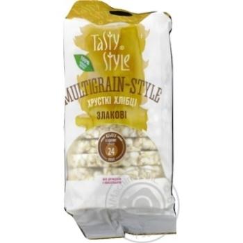Хлебцы Tasty Style злаковые хрустящие 95г