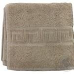 Рушник для обличчя DOLCE колір коричневий розмір 50*90 см арт 76