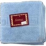 Рушник для обличчя DOLCE колір блакитний розмір 50*90 см арт 76-