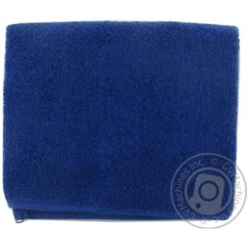Рушник махровий 40*70 синій 500г/м2 NOVUS HOME