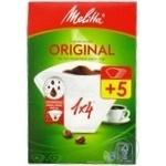 Filter Melitta white for coffee 40pcs