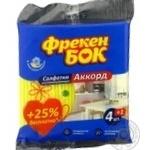 Water-absorbing wipe Freken bok for home 5pcs