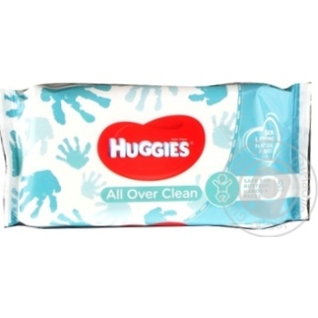 Huggies Everyday Baby Wet Wipes 56pcs - buy, prices for Novus - image 1