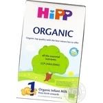 Смесь молочная сухая Hipp Organic 1 начальная 300г