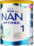 Dry sour milk formula Nestle Nan 1 for babies from birth 800g