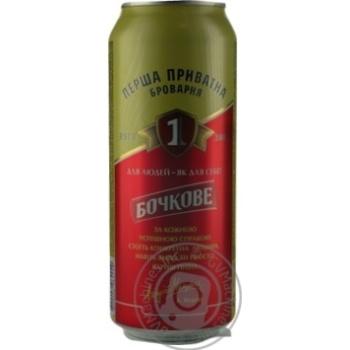 Пиво Перша приватна броварня Бочковое 4,8% 500мл