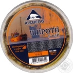 Iceberg in oil sprats 180g