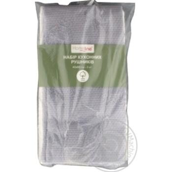 Набор полотенец Home Line 2шт 40Х60см - купить, цены на Метро - фото 1