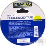 Buromax double-sided adhesive tape 12mmХ10m