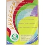 Цветная бумага Green Orange А4 PAS желтая 100 листов