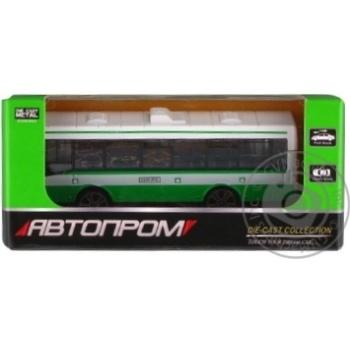 Іграшка Автопром Автобус Ікарус 1:64 метал в асортименті - купити, ціни на Ашан - фото 2