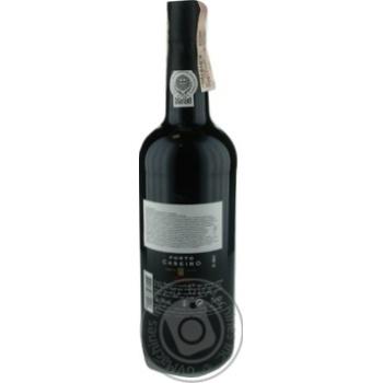 Вино Caseiro Tawny Porto красное крепкое 19% 0,75л - купить, цены на Novus - фото 2
