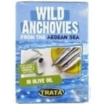 Fish anchovy in olive oil 160g