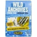 Fish anchovy oregano in oil 100g