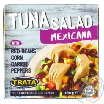 Салат мексиканський з тунцем Trata 160г