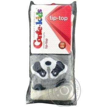 Колготки дитячі Conte Kids Tip-Top 17С-60СП розмір 150-152 22,444 молочний-сірий - купить, цены на Novus - фото 1
