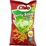 Соломка картофельная Chio Party Sticks со вкусом сметаны и лука 70г