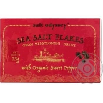 Сіль морська з органічним солодким перцем Salt Odyssey к/у 75г