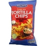 Chips Santa maria corn with the taste of barbecue 185g