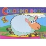Children's Coloring Vegetables and Fruits A5 16 pages