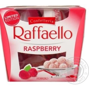 Конфеты Raffaello с малиной 150г - купить, цены на Novus - фото 2
