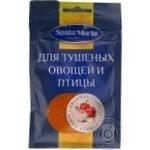 Приправа для тушкованих овочів і птиці Santa Maria пакет 25г