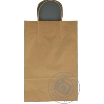 Крафтовий пакет коричневий 350Х230Х100мм