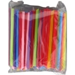 Straws for smoothies 100 pieces 9mmX21cm