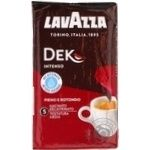 Кава мелена Intense Dek Lavazz 250г - купить, цены на Novus - фото 1