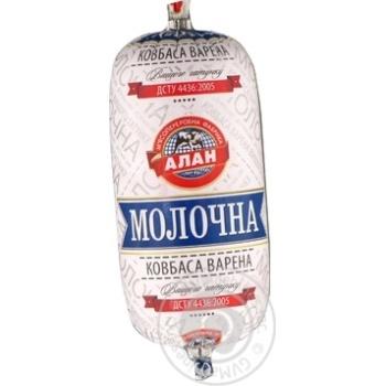 Колбаса Алан Молочная вареная в/с 400г - купить, цены на Novus - фото 2